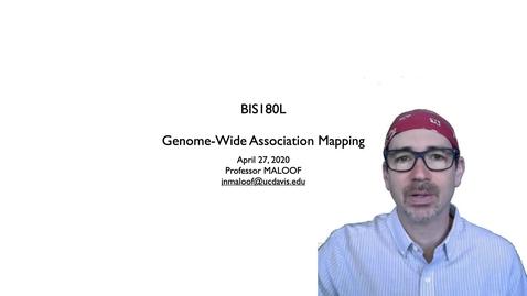 Thumbnail for entry BIS180L Lecture 8 GWAS