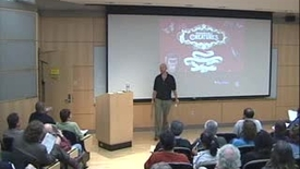 Thumbnail for entry Storer Lecture - Sean Carroll 03-23-2009