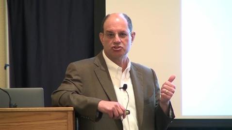 Thumbnail for entry Storer Lecture - David Julius - 10-10-2018