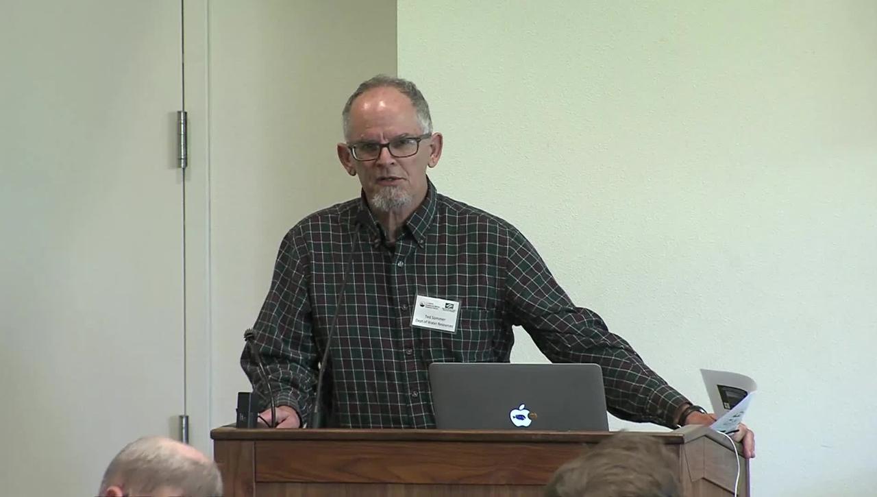CMSI Nov 2019 - Management Perspectives Across Systems - Fish Habitat Restoration - Tedd Sommer