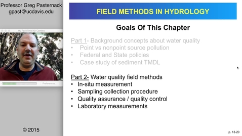 Thumbnail for entry HYD151: Water Quality, part 2