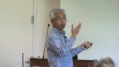 Thumbnail for entry Storer Lecture - Mingjie Zhang - 10-15-2019