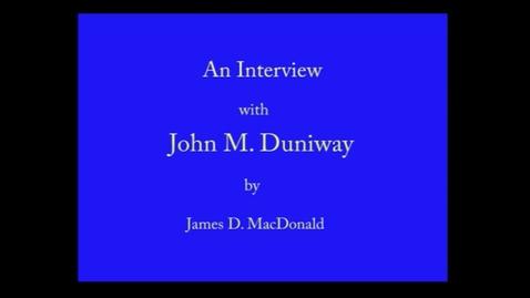 Thumbnail for entry John Duniway