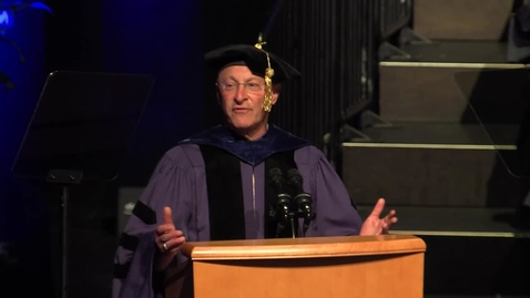 Thumbnail for entry 2019 Commencement Speaker - Ralph Hexter - May 24, 2019