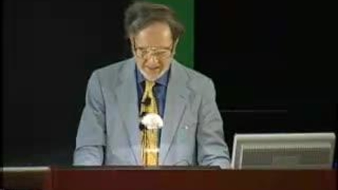 Thumbnail for entry Storer Lecture - Jared Diamond 10-03-2003
