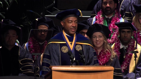 Thumbnail for entry 2018 Commencement Address - Chancellor Gary S. May
