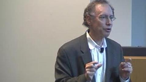 Thumbnail for entry Storer Lecture - Robert Langer 5-17-10