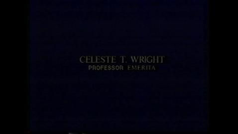 Thumbnail for entry Celeste Wright