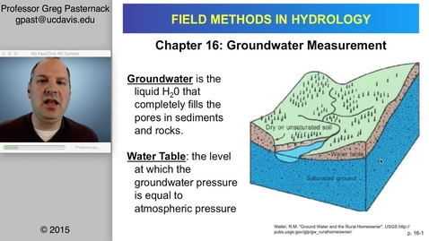 Thumbnail for entry HYD151: Groundwater Measurement, part 1