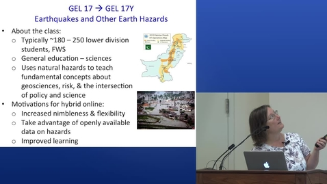 Thumbnail for entry Earthquakes and Other Earth Hazards   2015 UC Davis Online and Hybrid Learning Showcase
