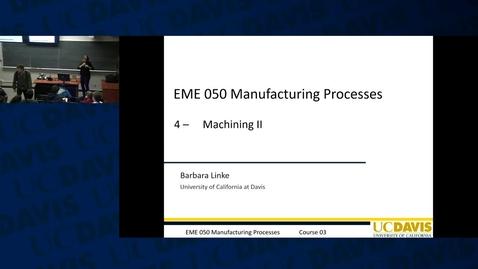 Thumbnail for entry EME50: 2016-01-14 12:10