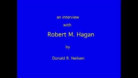 Thumbnail for entry Robert Hagan