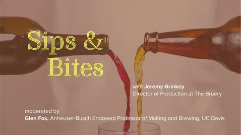 Thumbnail for entry Sips and Bites: Disrupting the Beer Wine Paradigm