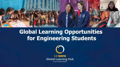 Thumbnail for entry Global Learning for Engineering Students