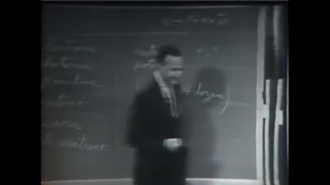Thumbnail for entry Richard Feynman on New Laws of Physics