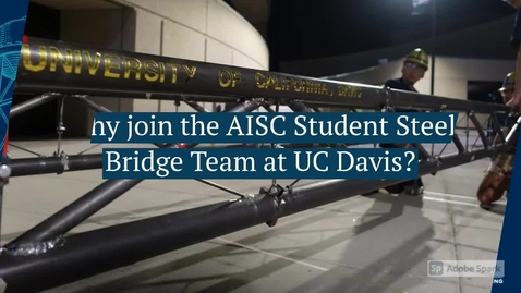 Thumbnail for entry Join UCD Steel Bridge