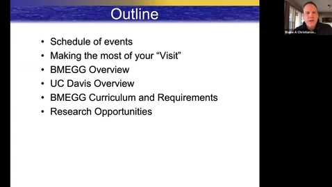 Thumbnail for entry BMEGG MS Program Overview