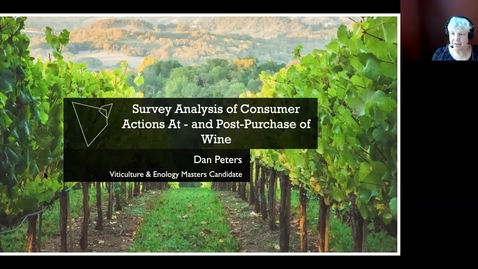 Thumbnail for entry VEN290 - Survey Analysis of Consumer Actions At - and Post-Purchase of Wine