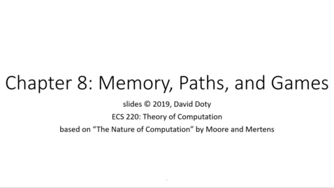 Thumbnail for entry ECS 220 8a:8.1-1 space versus time, and read-only, write-only, and read-write memory