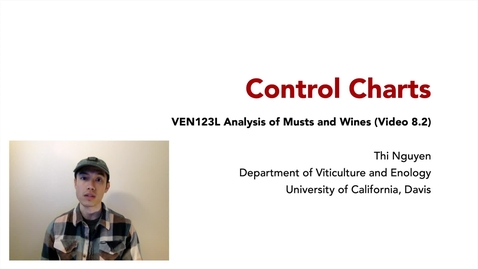 Thumbnail for entry VEN123L Video 8.2 - Control Charts
