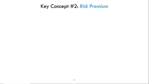 Thumbnail for entry ARE/ECN 115A:  Risk & Insurance (2)