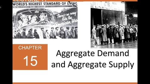 Thumbnail for entry ECN 1B: Lecture 11 - Aggregate Demand and Aggregate Supply (Part 1 of 3)