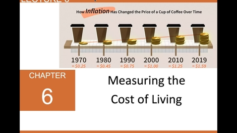 Thumbnail for entry ECN 1B: Lecture 6 - Measuring the Cost of Living (Part 1 of 2)