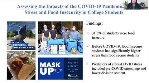 Thumbnail for entry UFWH 2021 - Samantha Udarbe_Assessing the Impacts of the COVID-19 Pandemic on Stress and Food Insecurity in College Students