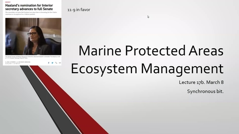 Thumbnail for entry ESP170 L17b Marine Protected