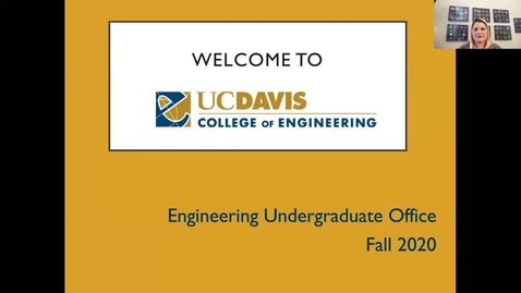 Thumbnail for entry College of Engineering Welcome Webinar