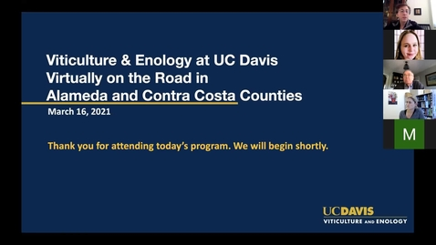 Thumbnail for entry Virtually on the Road in Alameda and Contra Costa Counties