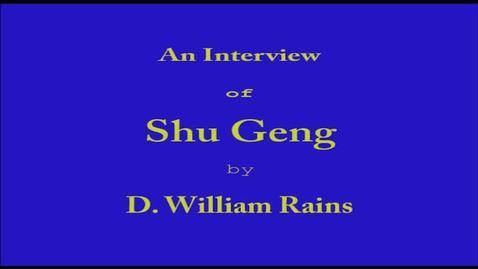 Thumbnail for entry Shu  Geng