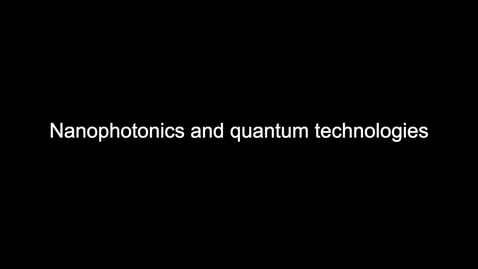 Thumbnail for entry ECE1_Nanophotonics and Quantum Technologies