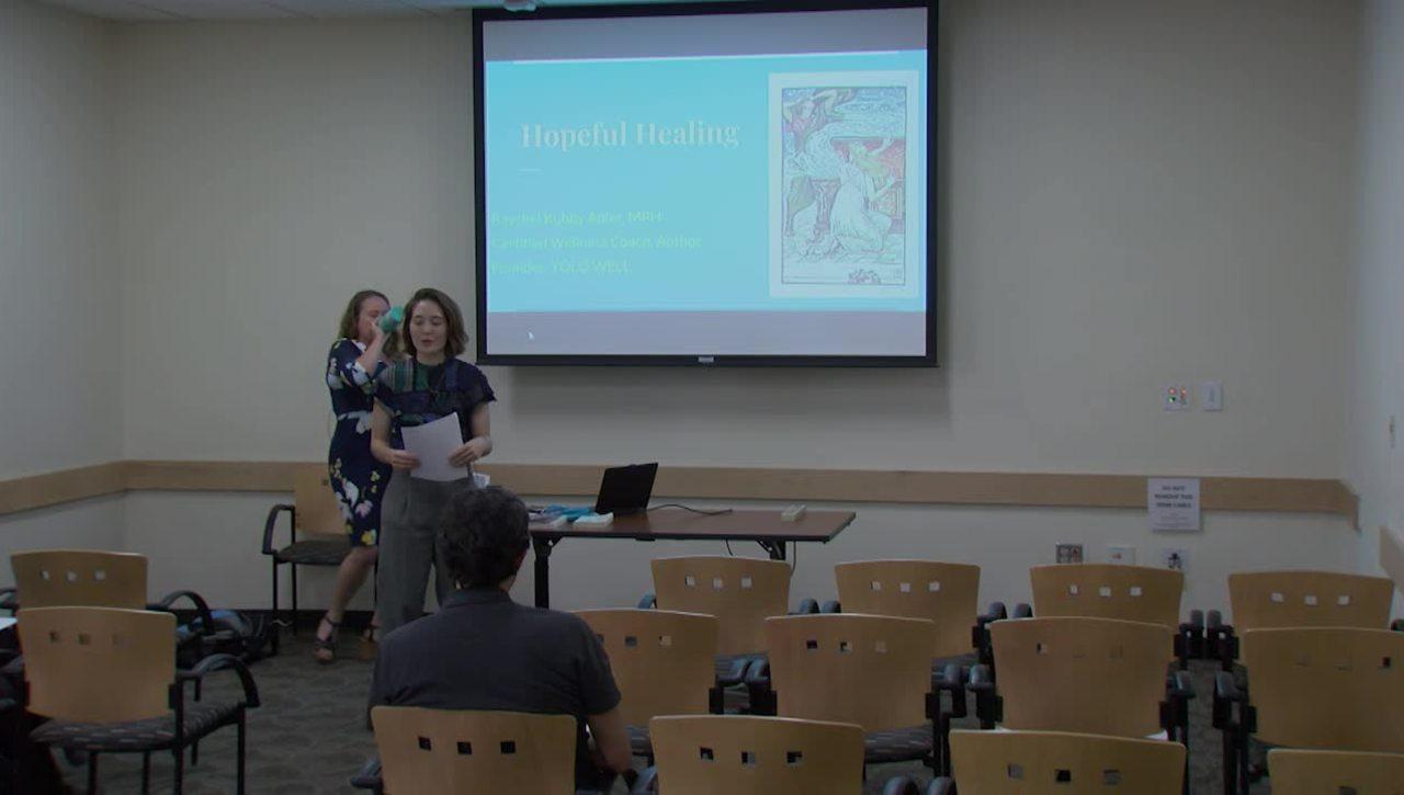CCBP Raychel Kubby-Adler Hopeful Healing Seminar, April 18, 2019
