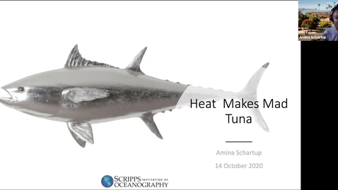 Thumbnail for entry BML - Dr. Amina Schartup:  Heat Makes Mad Tuna