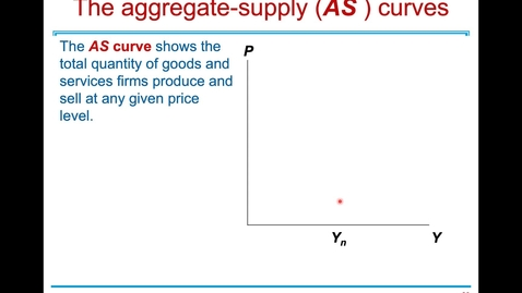 Thumbnail for entry ECN 1B: Lecture 11 - Aggregate Demand and Aggregate Supply (Part 2 of 3)