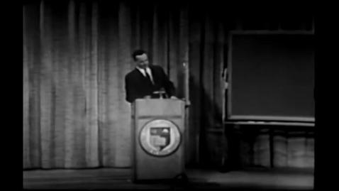 Thumbnail for entry Richard Feynman on  Quantum Behavior