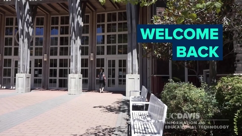 Thumbnail for entry Staff and faculty returning to campus