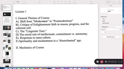 Thumbnail for entry His 147C: Lecture 1, Themes of the Course