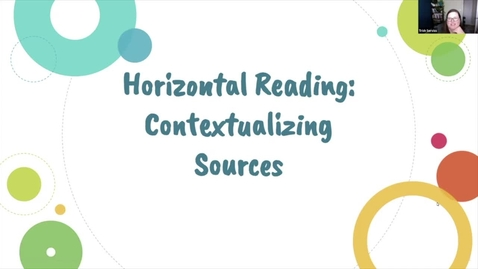 Thumbnail for entry Horizontal Reading Video (Updated for Fall 2020)