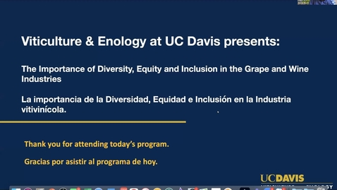 Thumbnail for entry The Importance of Diversity, Equity and Inclusion in the Grape and Wine Industries