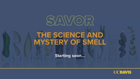 Thumbnail for entry Harold McGee and Susan Ebeler // Savor: The Science and Mystery of Smell