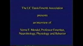Thumbnail for entry Verne Mendel
