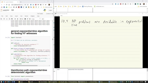 Thumbnail for entry ECS 120 8a:1 exponential-time algorithms for NP problems