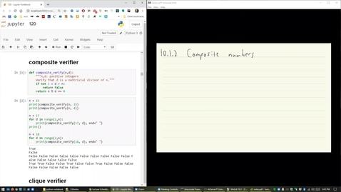 Thumbnail for entry ECS 120 7b:5 polynomial-time verifier for Composites