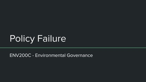 Thumbnail for entry ENV200C Policy Failure
