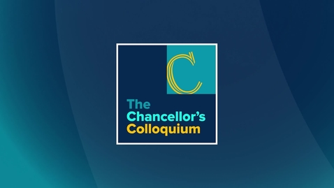 Thumbnail for entry Chancellor's Colloquium with Rosie Rios, May 19, 2021