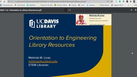 Thumbnail for entry LEADR-OrientationToLibraryEngResources