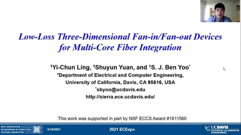 Thumbnail for entry Low-Loss Three-Dimensional Fan-in/Fan-out Devices for Multi-Core Fiber Integration