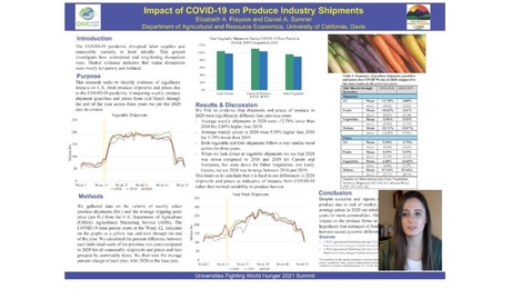Thumbnail for entry UFWH 2021 - Elizabeth Fraysse_Impact of COVID-19 on Produce Industry Shipments_v4
